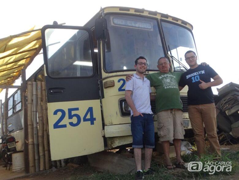 Estudante de 62 anos quer desbravar países em um ônibus adaptado - Crédito: Marcos Escrivani