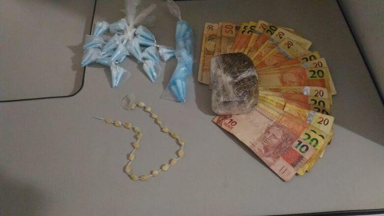 Casal é detido com entorpecentes no CDHU - Crédito: Maycon Maximino