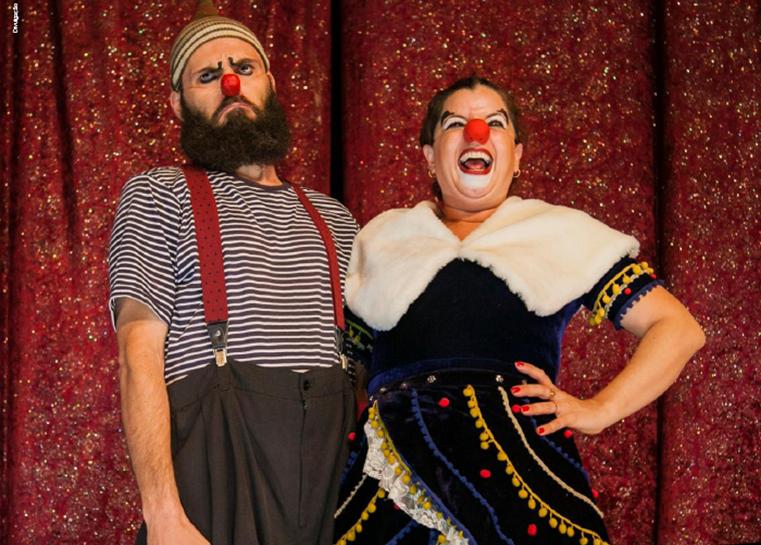 A arte do circo nos palcos do Sesi São Carlos - Crédito: Divulgação