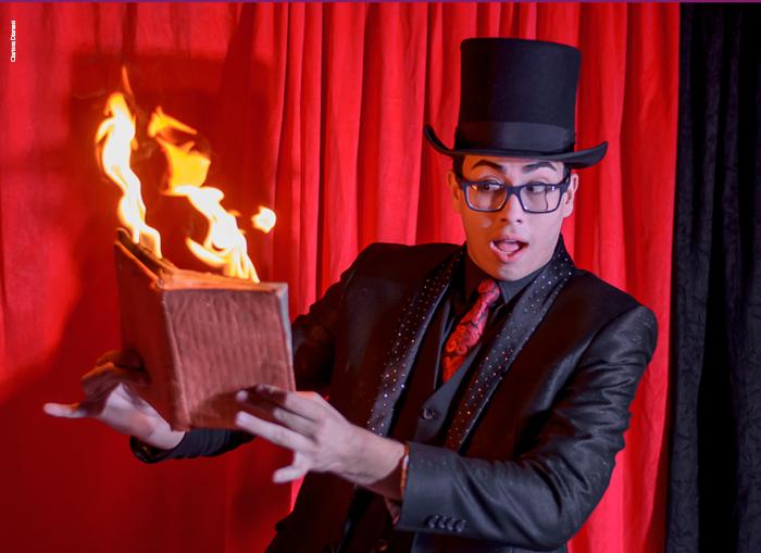 Mágica e ilusionismo nos palcos do Sesi São Carlos - Crédito: Divulgação