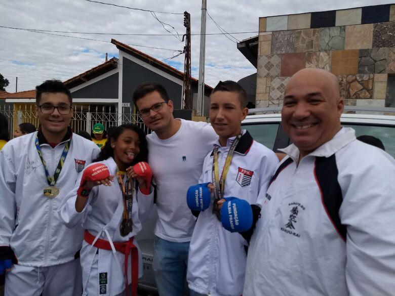 Karatecas ibateenses se destacam no Campeonato Brasileiro Zonal Sul - Crédito: Divulgação