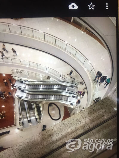 Homem cai do 3º andar de um shopping e morre em Ribeirão Preto - Crédito: Divulgação
