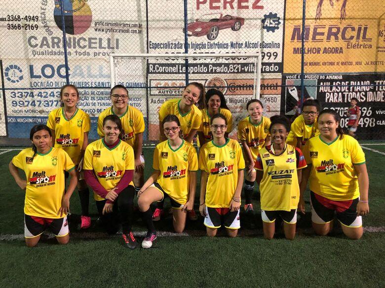 Em homenagem a Copa do Mundo, Mult Sport fará torneio de futebol feminino - Crédito: Divulgação
