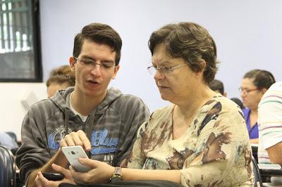 ICMC recebe inscrições para curso que ensina idosos a utilizar smartphones e tablets - Crédito: Divulgação