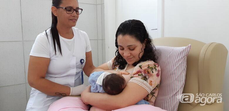Santa Casa Carlos comemora o Dia Mundial da Amamentação - Crédito: Divulgação