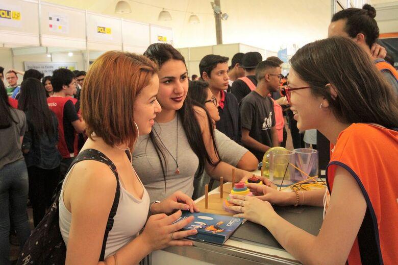 Conheça os cursos do Instituto nas feiras de profissões da USP - Crédito: Divulgação