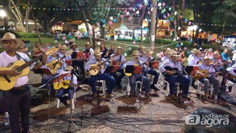 Festa julina na Praça da 15 é neste domingo - Crédito: Divulgação