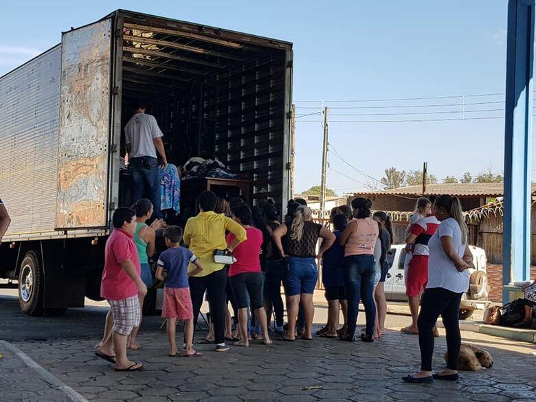 Solidariedade chega ao Distrito de Santa Eudóxia - Crédito: Divulgação