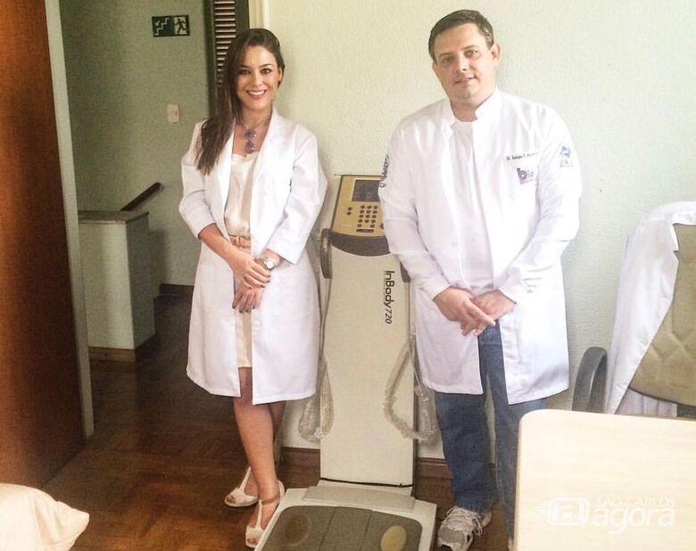 A nutricionista Giovanna Maffei e o fisioterapeuta Antonio Aquino irão ministrar as palestras - Crédito: Marcos Escrivani