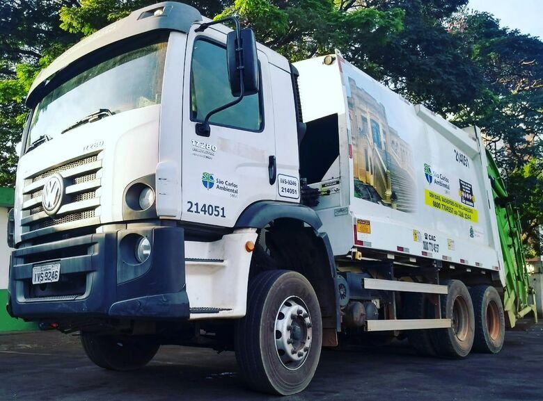 Coleta de lixo sofre alteração em seis bairros de São Carlos - Crédito: Marcos Escrivani