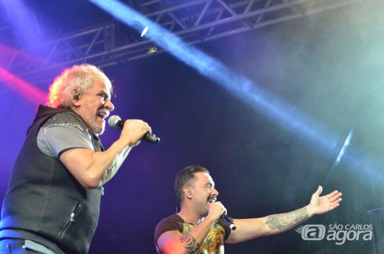 Matogrosso e Mathias agita o público em Santa Eudóxia - Crédito: Divulgação