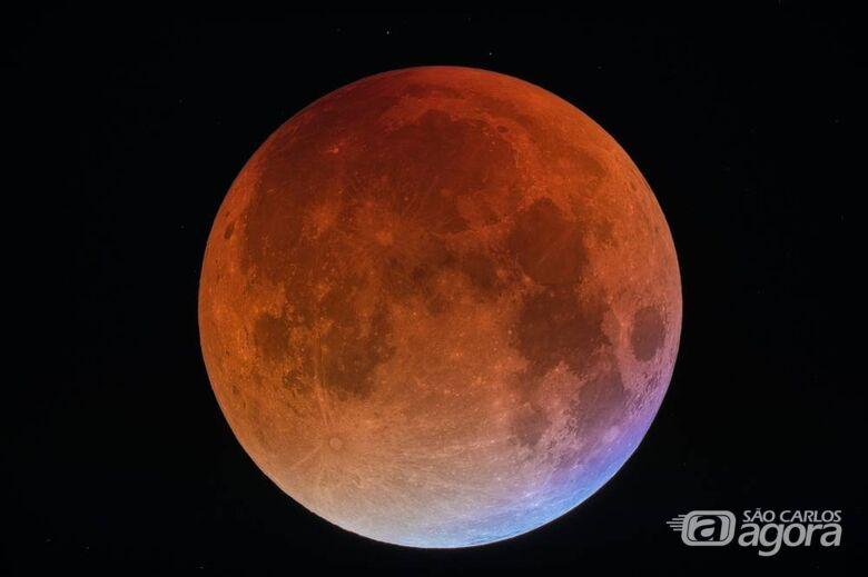 Maior eclipse lunar do século, 'lua de sangue' poderá ser vista do Brasil - Crédito: Divulgação