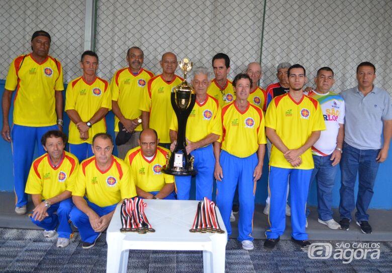 São-carlenses vencem torneio regional de malha - Crédito: Divulgação