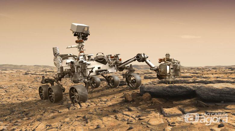 """""""A Caminho de Marte"""" é o tema do encontro """"Ciência às 19 Horas"""" - Crédito: Divulgação"""