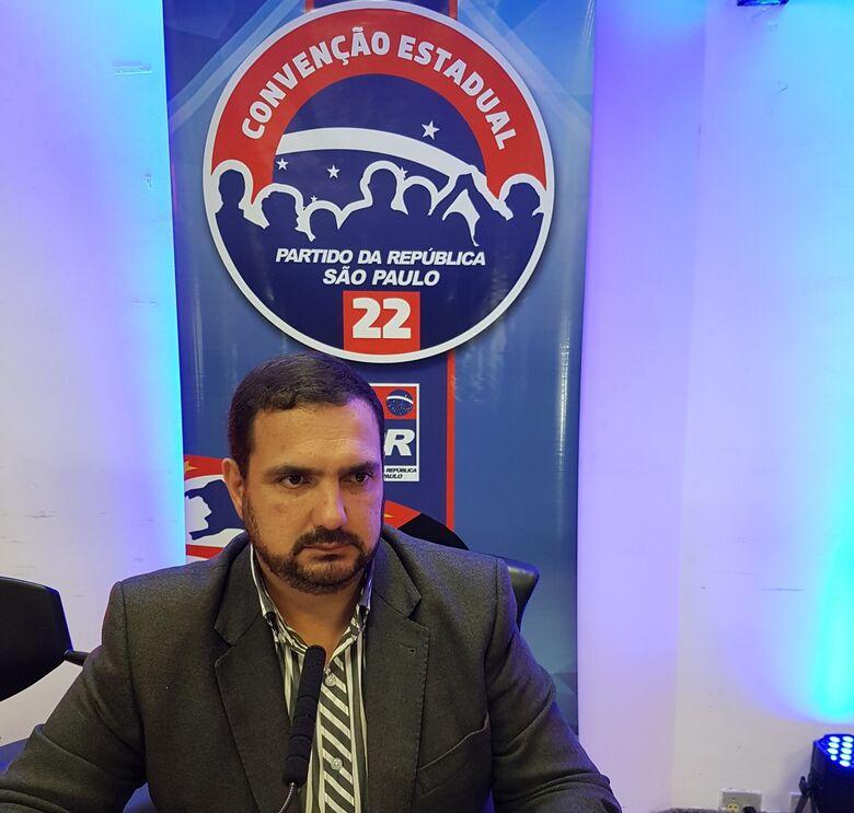 Julio Cesar tem oficializada em convenção candidatura a deputado estadual - Crédito: Divulgação
