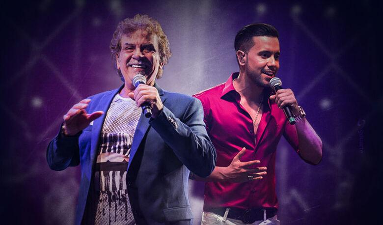 Show com Matogrosso e Mathias acontece neste domingo em Santa Eudóxia -