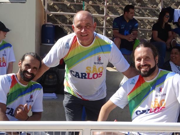 Natação ACD são-carlense realiza integração com atletas da seleção brasileira - Crédito: Marcos Escrivani