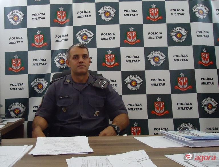 Capitão Nucci quer apoio da população para mandar os bandidos para a cadeia - Crédito: Arquivo/SCA