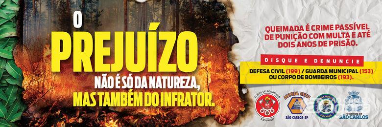 Campanha visa orientar danos causados por queimadas -