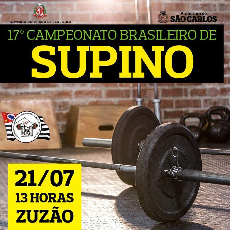 Brasileiro de Supino agita São Carlos no final de semana -