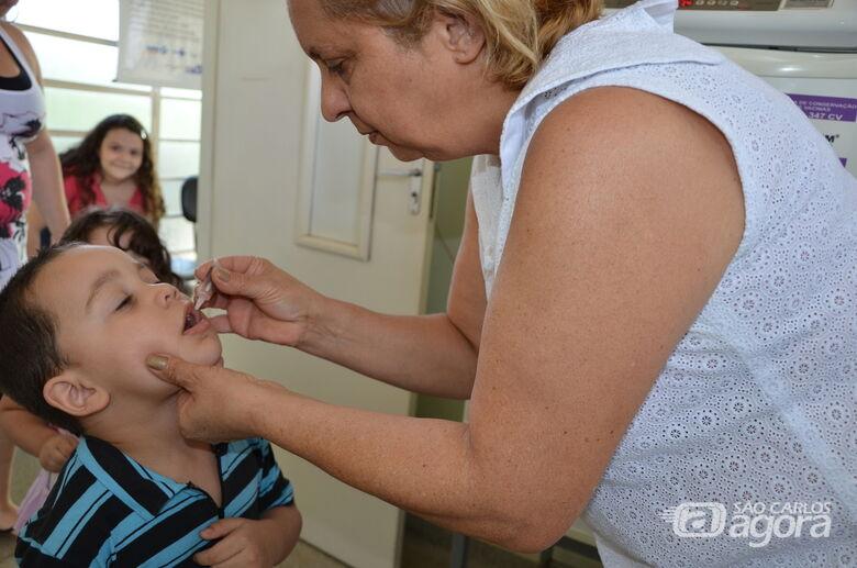 Vacinação contra a Poliomielite e Sarampo começa neste sábado - Crédito: Divulgação