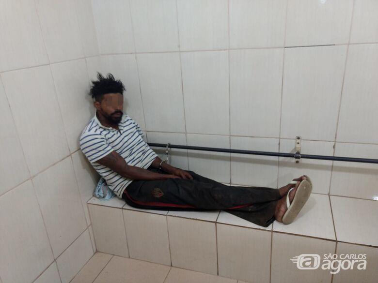 Foragido da cadeia de Bauru é capturado em Ibaté - Crédito: Luciano Lopes
