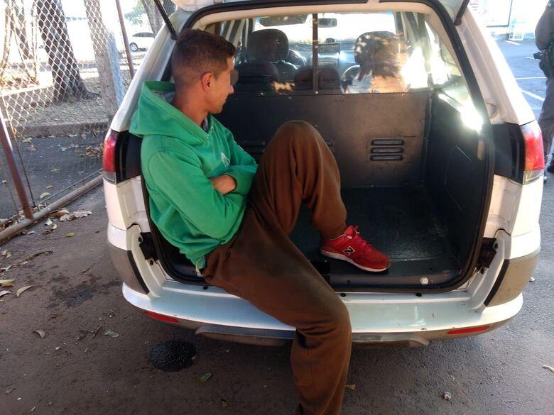 Homem é detido por descumprir medida protetiva - Crédito: Luciano Lopes