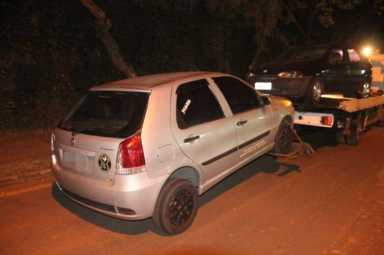 Ladrão é detido acusado de furtar rodas de carro - Crédito: Maycon Maximino