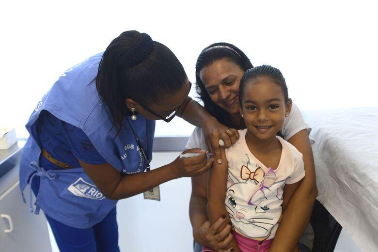 Entenda como será a campanha de vacinação contra o sarampo e a pólio - Crédito: Tânia Rego/Agência Brasil