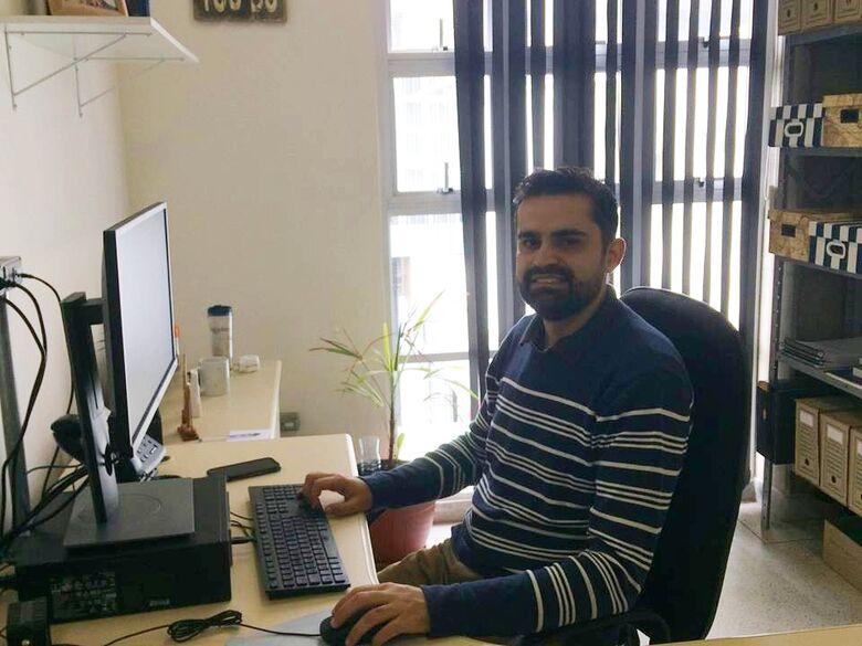 Diogo Silva conduz estudos sobre produção e sustentabilidade - Crédito: Andressa Nogueira - CCS/UFSCar
