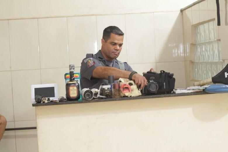 PM apreende adolescente acusado de vários furtos em São Carlos - Crédito: Marco Lúcio