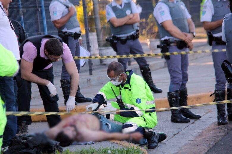 Reage a abordagem e acaba morto pela Polícia Rodoviária na Washington Luis - Crédito: Maycon Maximino