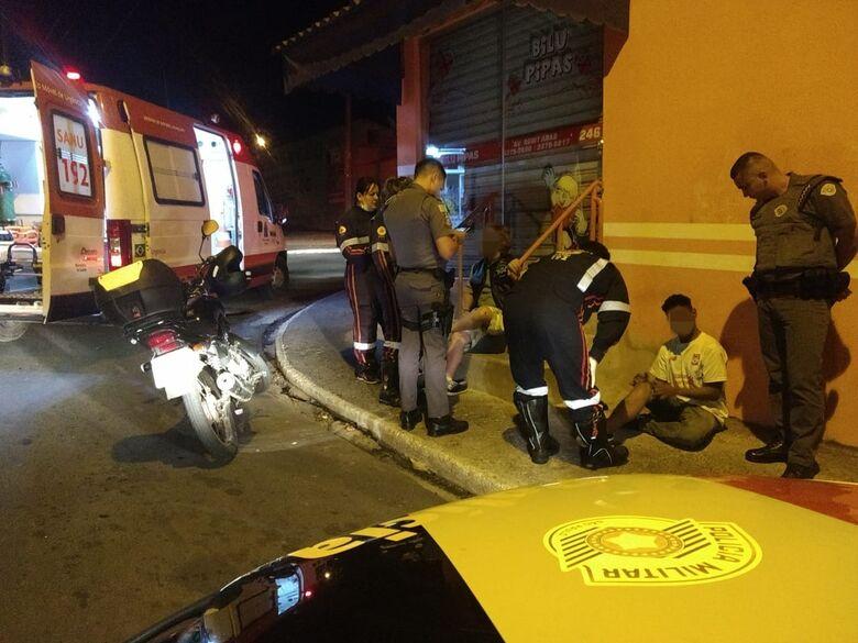 Atropelamento deixa dois feridos no Cidade Aracy - Crédito: Luciano Lopes