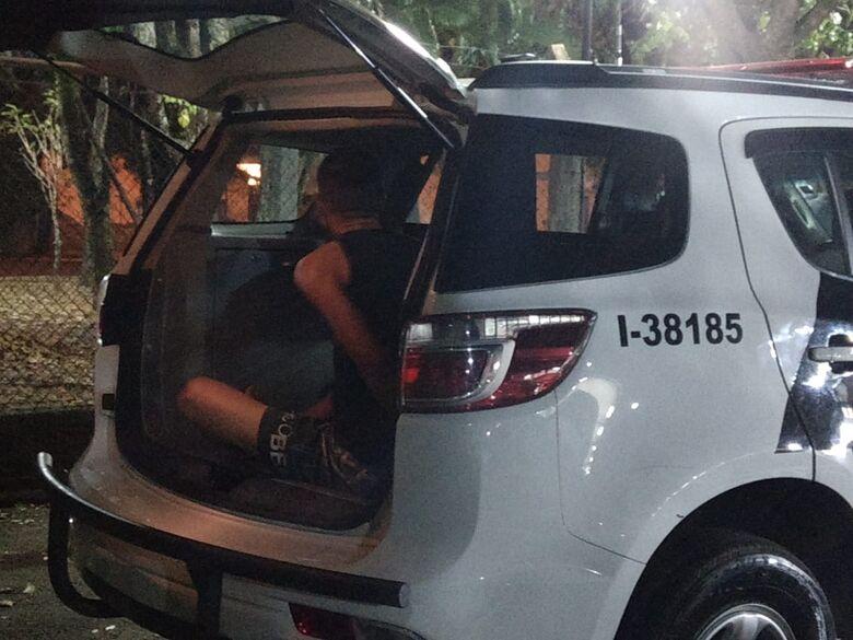 Procurado por assalto a mão armada é capturado no Gonzaga - Crédito: Divulgação