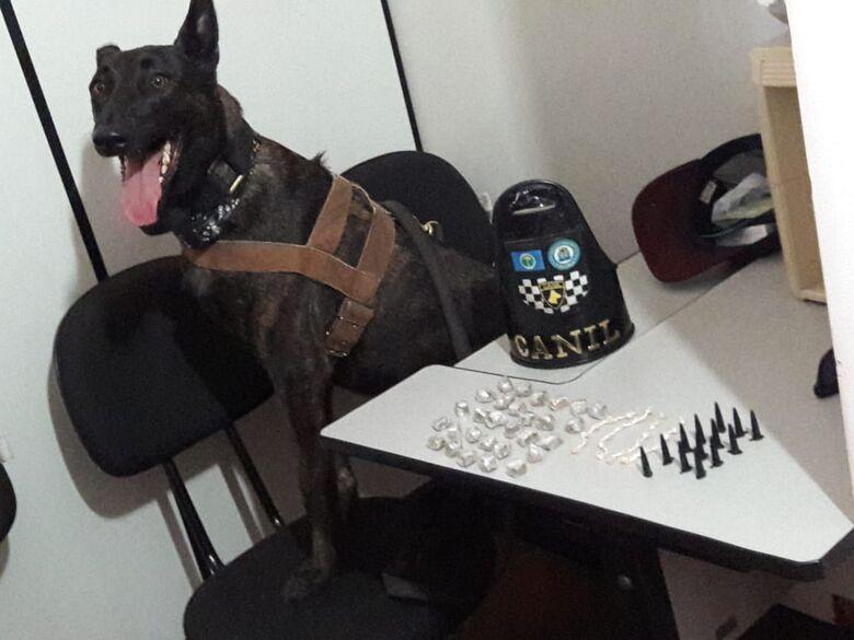 Guarda Municipal flagra jovem com entorpecentes no Romeu Tortorelli - Crédito: Maycon Maximino