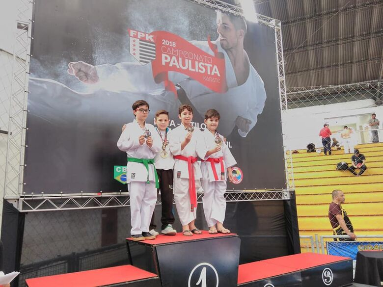Associação Wada classifica três atletas para o Campeonato Brasileiro Escolar - Crédito: Divulgação
