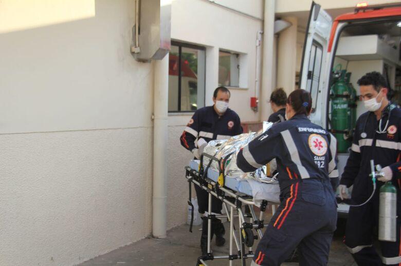 Homem que sofreu acidente de trabalho no Damha II está na UTI - Crédito: Maycon Maximino