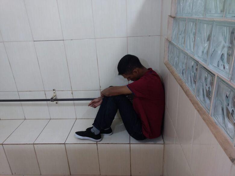 Acusado de participar da morte de PM no Pará é detido em São Carlos - Crédito: Luciano Lopes