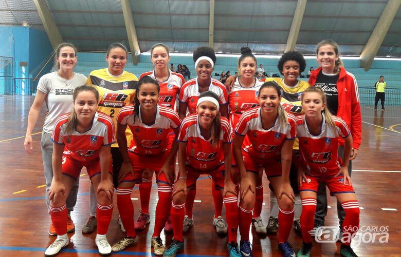 Meninas do futsal mostram força e vencem quatro jogos em Descalvado - Crédito: Marcos Escrivani