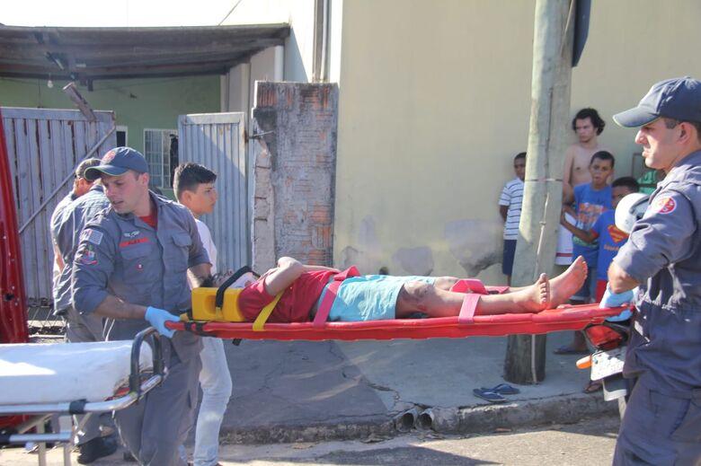 Motorista atropela ciclista de 10 anos e foge sem prestar socorro - Crédito: Maycon Maximino