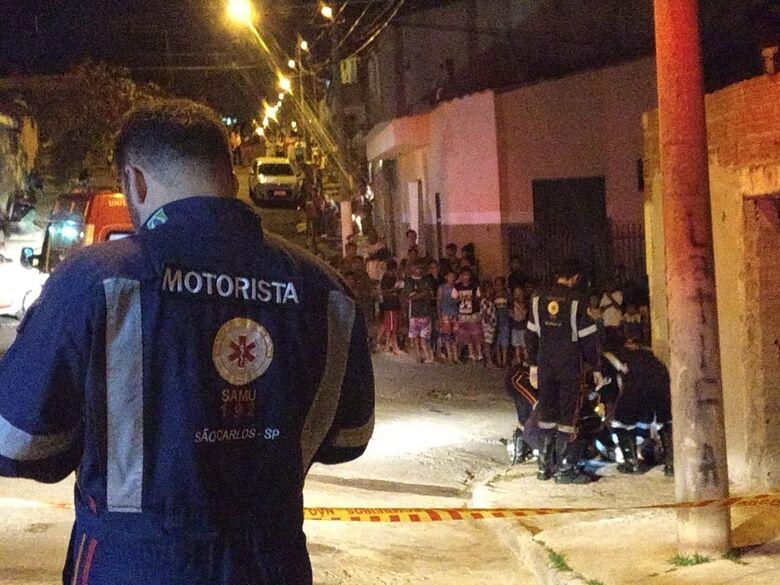 Homem é assassinado a tiros no Gonzaga - Crédito: Luciano Lopes