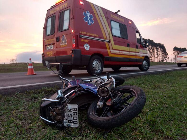 Idoso provoca acidente na Washington Luís - Crédito: Luciano Lopes