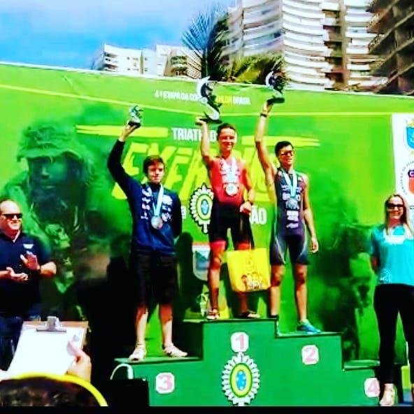 São-carlense vence a Copa Brasil de Triathlon - Crédito: Divulgação