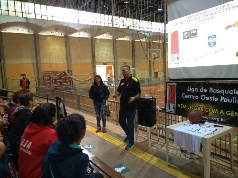 Clínica de basquete atinge meta e reúne professores, técnicos e estudantes - Crédito: Marcos Escrivani
