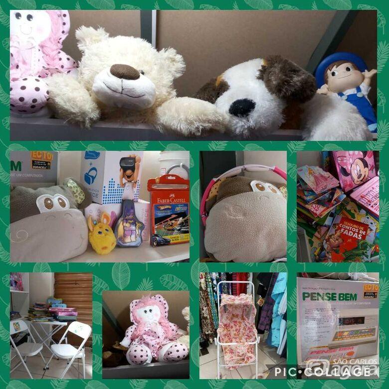 Casa da Criança realiza bazar beneficente -