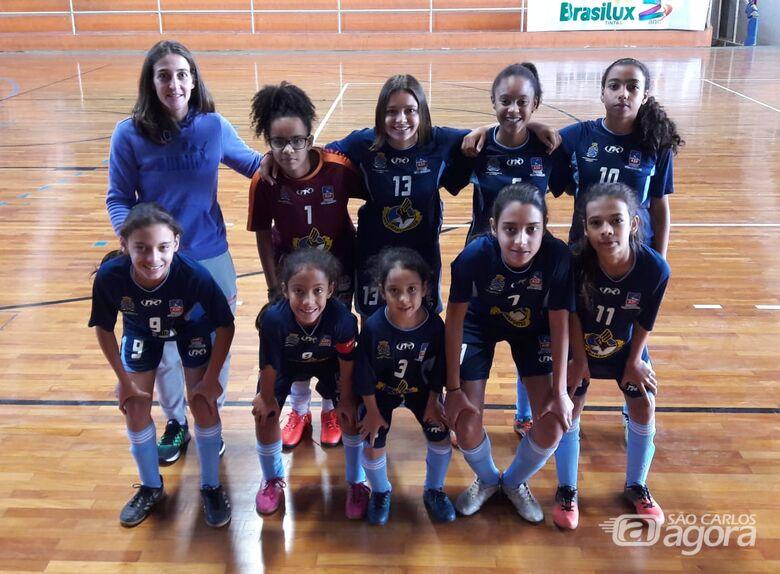 Pequenas talentosas da Asf São Carlos vencem em Porto Ferreira - Crédito: Marcos Escrivani