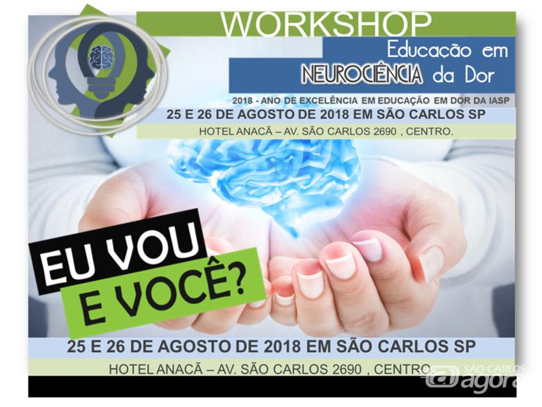 São Carlos recebe workshop em Educação da Neurociência da Dor -