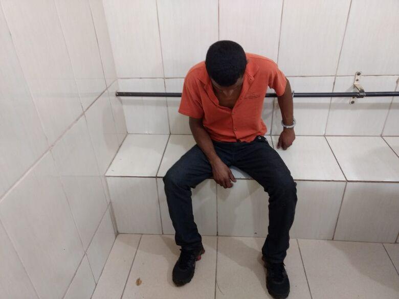 Procurado por furto é preso na região da Praça Itália - Crédito: Luciano Lopes
