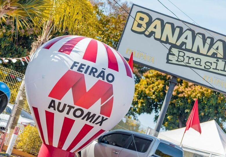 Em três dias, 140 veículos são vendidos no Feirão Automix - Crédito: Divulgação