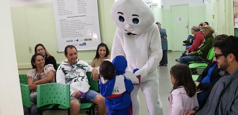 Crianças serão imunizadas neste sábado contra Poliomielite e Sarampo - Crédito: Divulgação